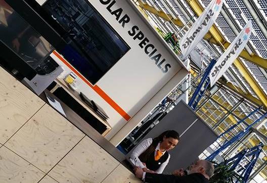 Beurs Orange Solar Haarlem 2016 PION horeca en promotie
