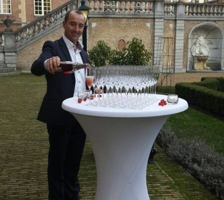 Champganetoost en Diner PION horeca en promotie