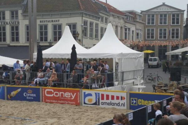 Beachvolleybaltoernooi PION horeca en promotie