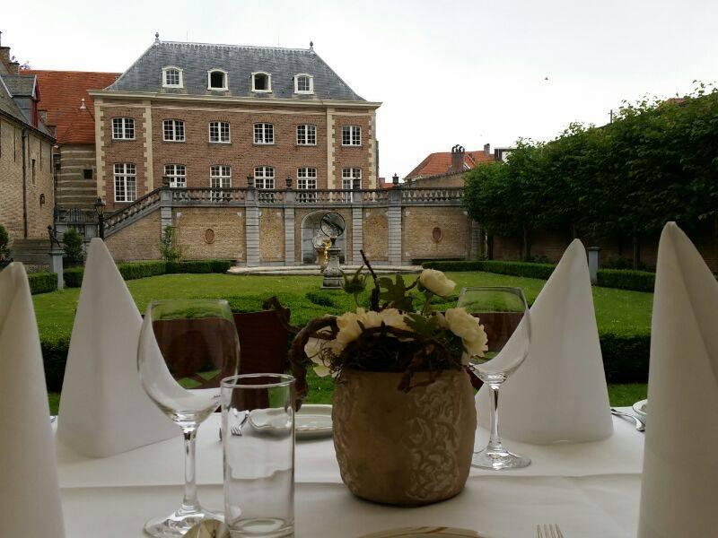 Lunch franse tuin markiezenhof pion horeca en promotie for Franse tuin