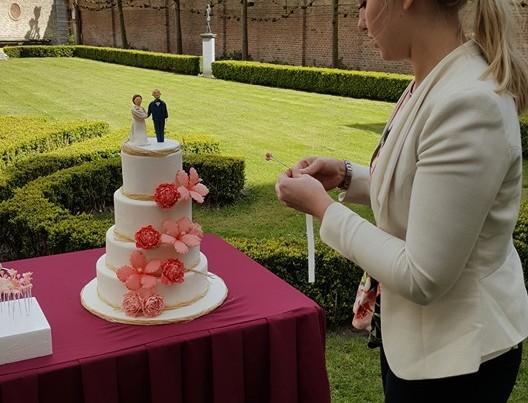 Huwelijkstoost en bruidstaart PION horeca en promotie