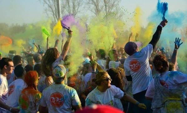 Colour Your Life Run 2015 PION horeca en promotie