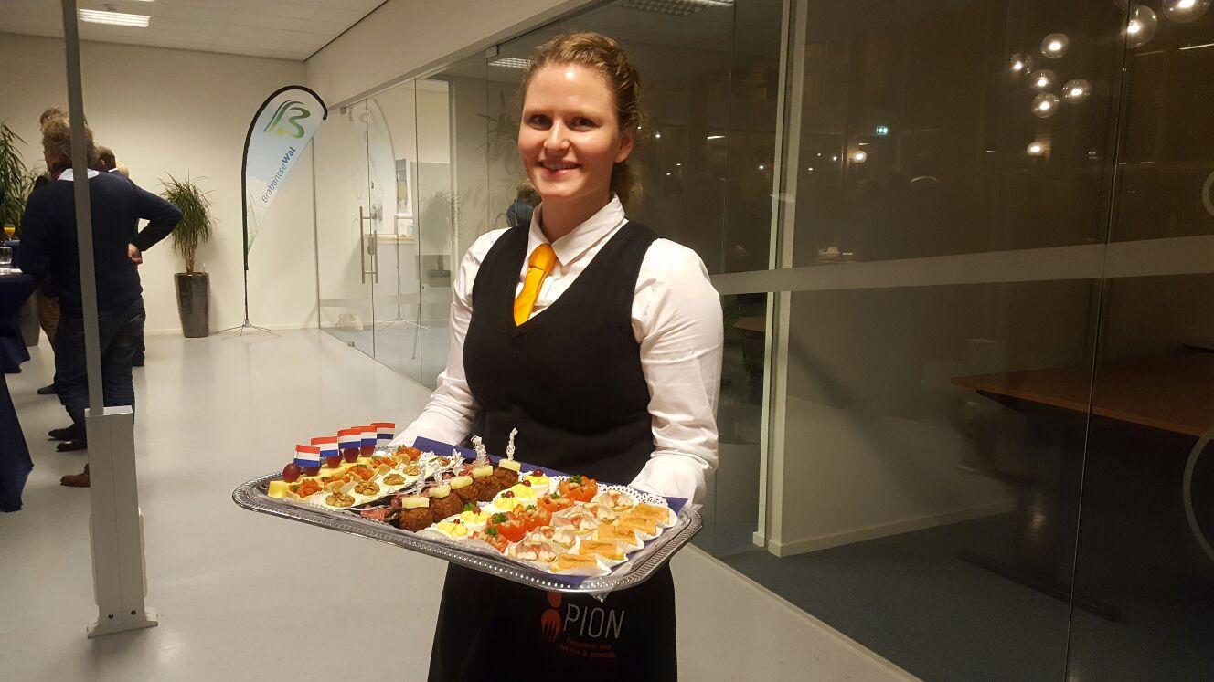 Nieuwjaarsreceptie Brabants Zeeuwse Werkgeversvereniging PION horeca en promotie