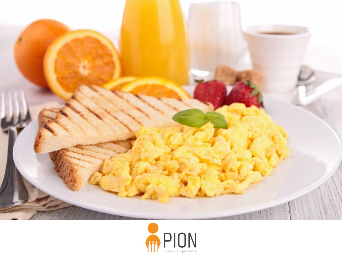 Inspireren ontbijt met collega's PION horeca en promotie