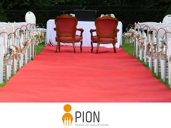 Bruiloft PION horeca en promotie