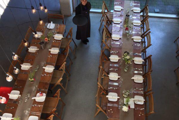 Bruiloft Antwerpen met Purple catering
