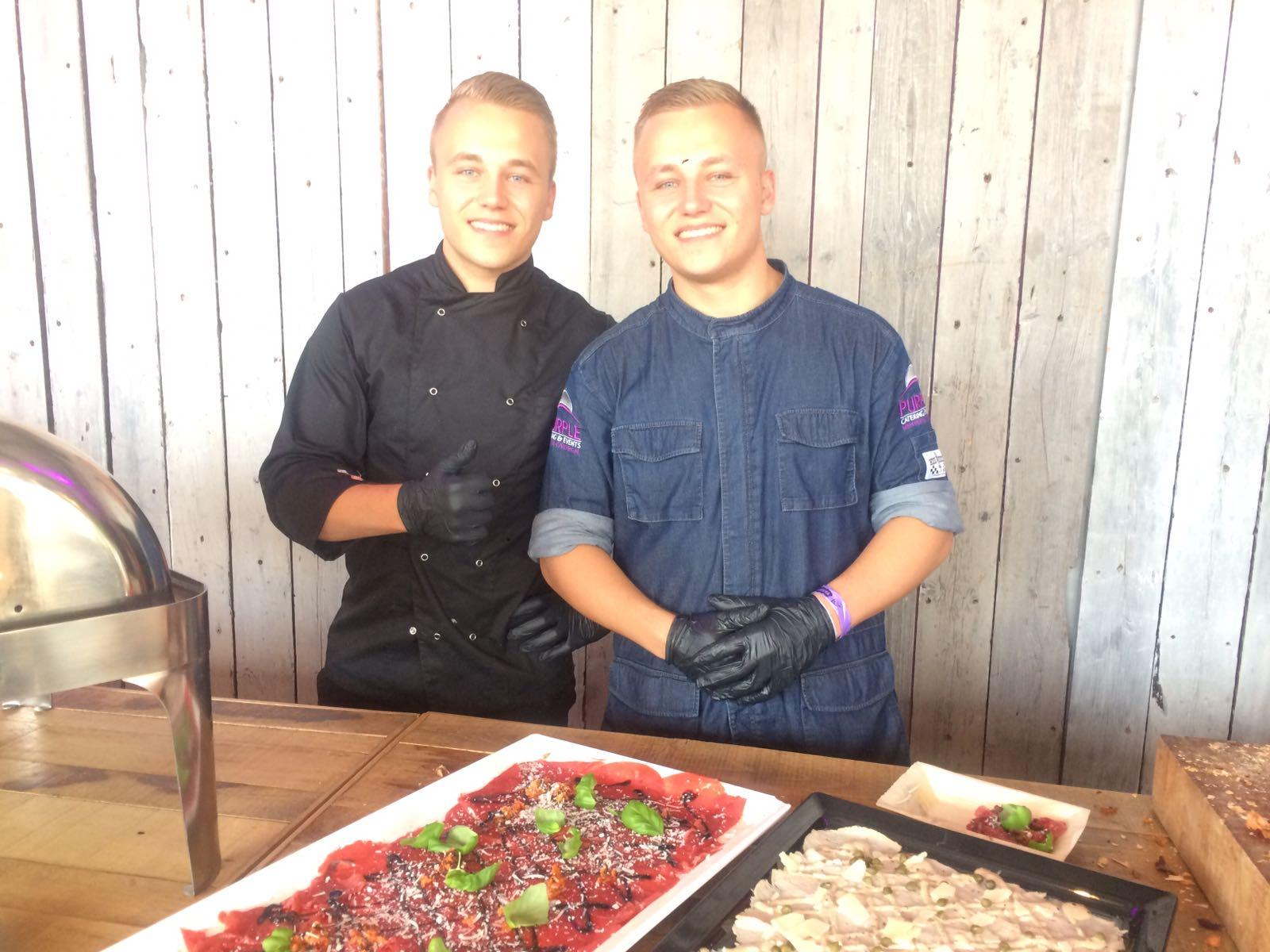 Breda live met purple catering