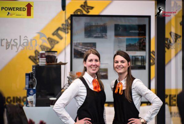 Hanover Solar Beurs Expo Haarlemmermeer PION horeca en promotie