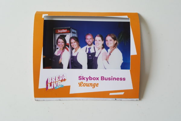 Breda Live Purple catering bediening bar Skybox Business Lounge PION Horeca en Promotie