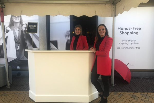 Late night shopping hostess Rosada roosendaal PION Horeca & Promotie