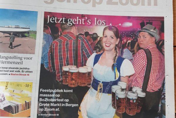 BOZtoberfest 2018 Bergen op Zoom event bediening bar BN DeStem PION Horeca en Promotie
