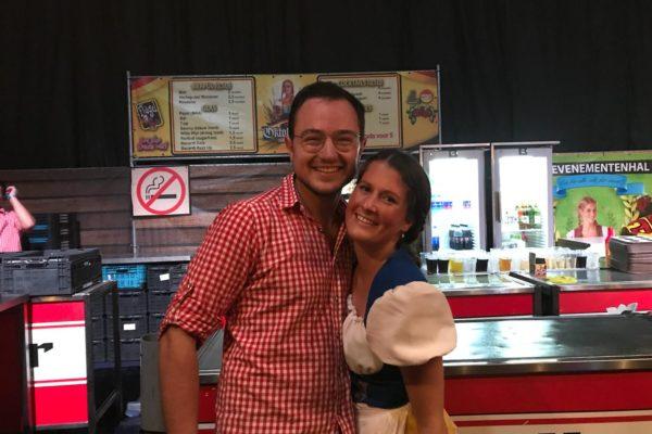 Oktoberfest Roosendaal 2018 bediening PION Horeca en Promotie