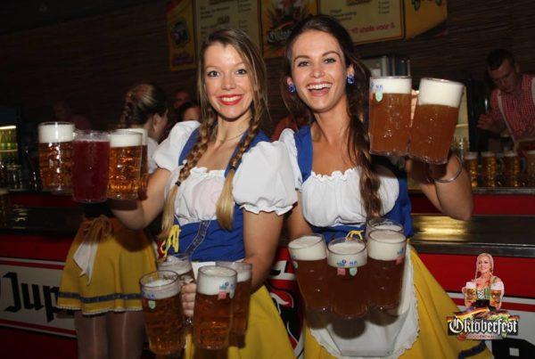 PION horeca promotie uitzendbureau Bergen op Zoom Personeel collega meewerken medewerkers Oktoberfest focus events bier dames