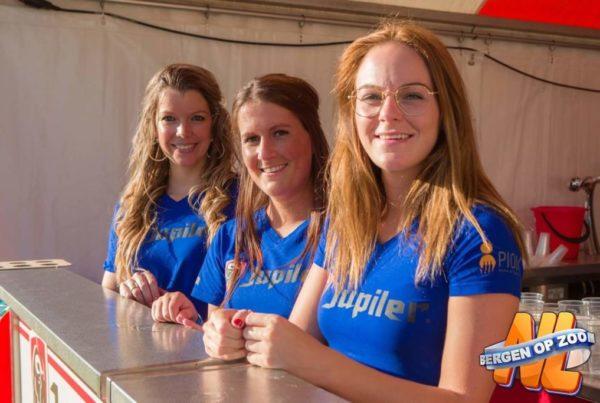 PION horeca promotie uitzendbureau Bergen op Zoom Personeel collega meewerken medewerker Jupiler Bar Bier
