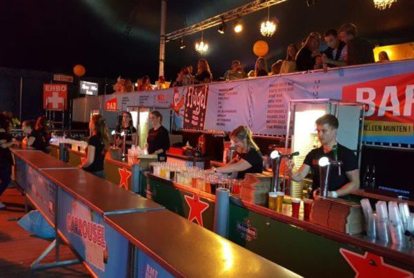 PION horeca promotie uitzendbureau Bergen op Zoom Personeel collega meewerken medewerker Carrousel festival Stuij events Bar Heineken bier Tap