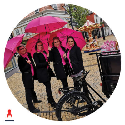 Brand Activation hostess shopping entertainment PION evenementenbureau
