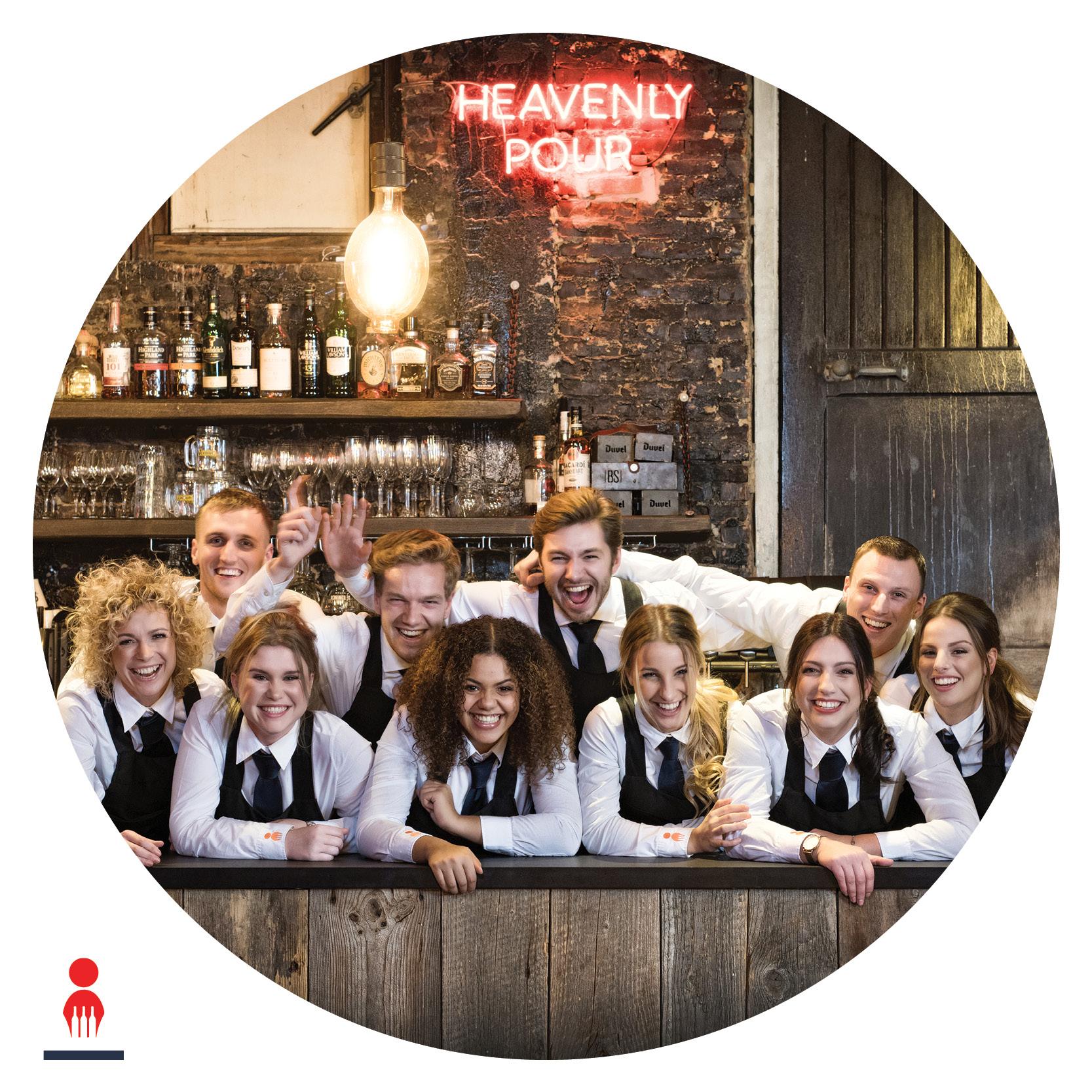 PION horeca promotie food entertainment Bergen op Zoom uitzendbureau