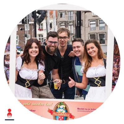 Oud_fotoframe oktoberfest_Rond