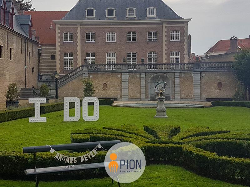 PION horeca promotie uitzendbureau Bergen op Zoom Bruiloft landhuis tuin