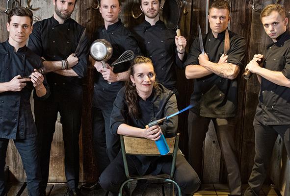 Keuken crew Pion Horeca en Promotie Team werknemers Bergen op Zoom Kok keukenmedewerkers restaurants